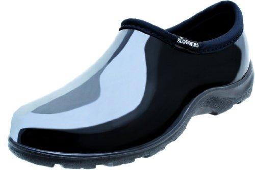 5100Bk09 Garden Shoe Black 9