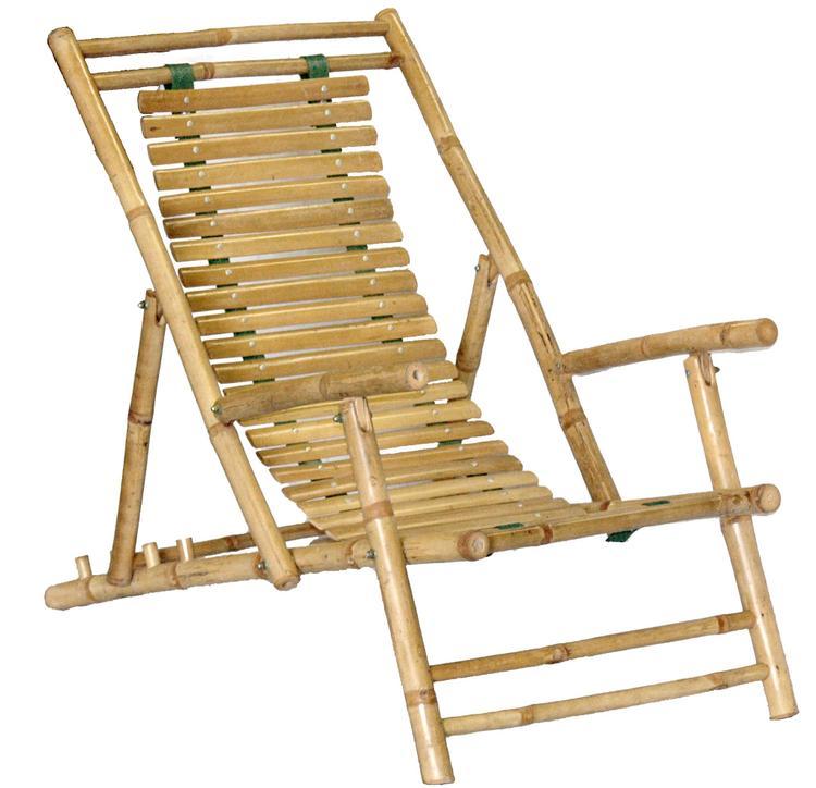Chair Bamboo Recliner
