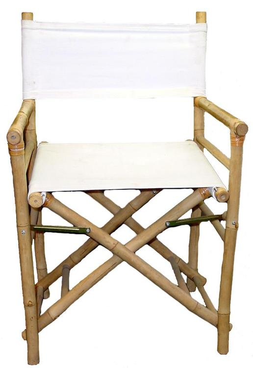 Chair Bamboo Director Low