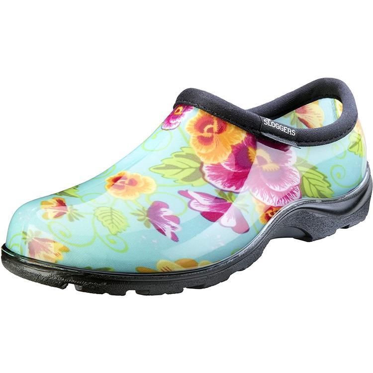 5114Tp08 Shoe Teal Pansey 8