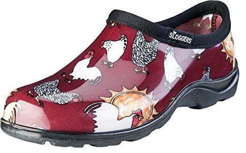 5116Cbr06 Shoe Chkn Red Sz 6
