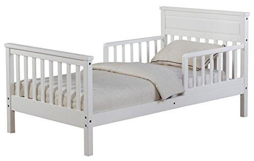 Angel Line Cameron Toddler Bed, White