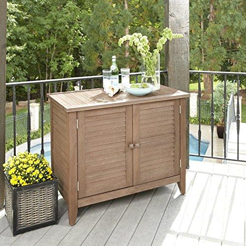 Home Styles Outdoor Solid Wood Buffet