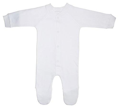 Bambini Interlock White Closed-toe Sleep & Play