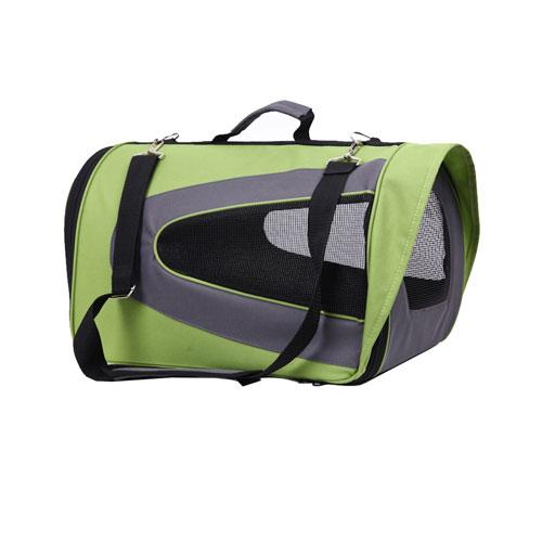 Iconic Pet - FurryGo Universal Collapsible Pet Airline Carrier - Lime Green - Medium
