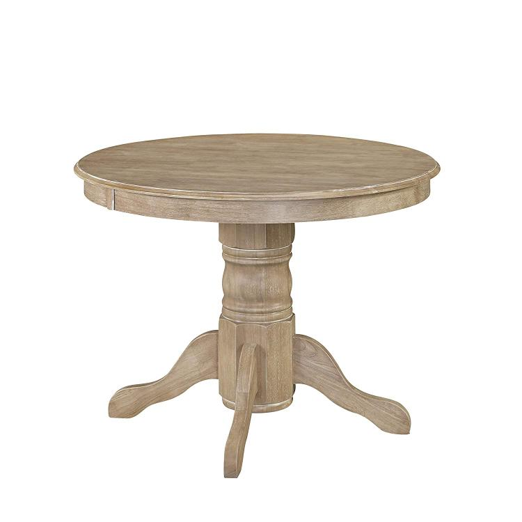 Home Styles Classic Pedestal Dining Table in White Wash Finish [Item # 5170-30]