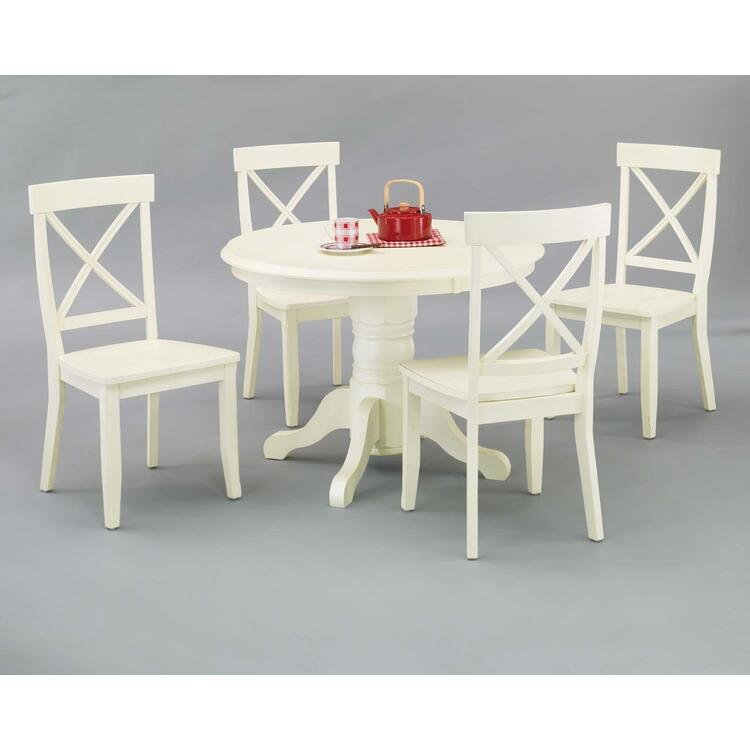 Round Dining Table And Dining Chairs