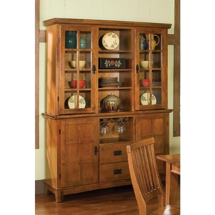 Home Styles Arts And Crafts Dining Buffet And Hutch