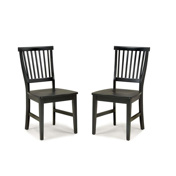 Set Of 2 Arts And Crafts Side Chairs