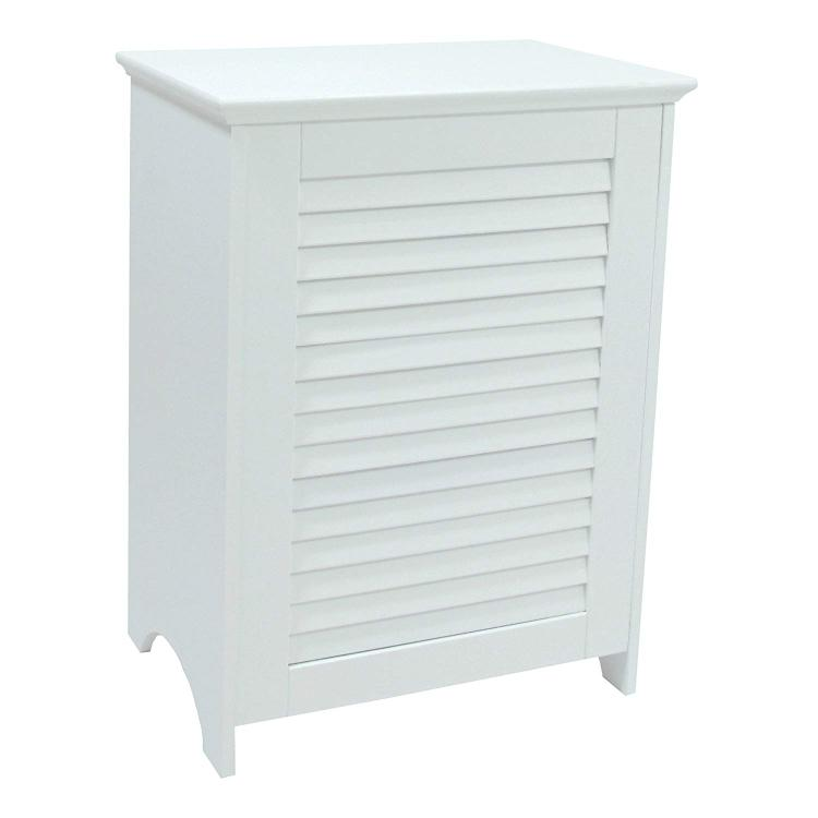 WC Redmon Contemporary Country Louvered Front Hamper [Item # 5208WH]