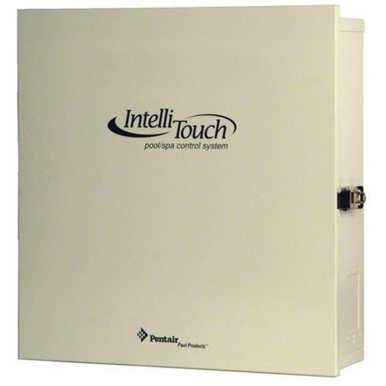 Intellitouch Power Center for Pools with IntelliChlor Transformer