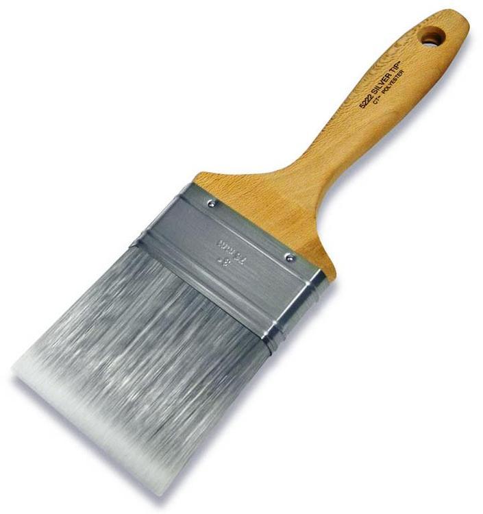 5222-3 Varn Brush Slvr Tip