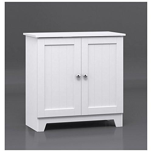 WC Redmon Contemporary Country Double Door Cabinet