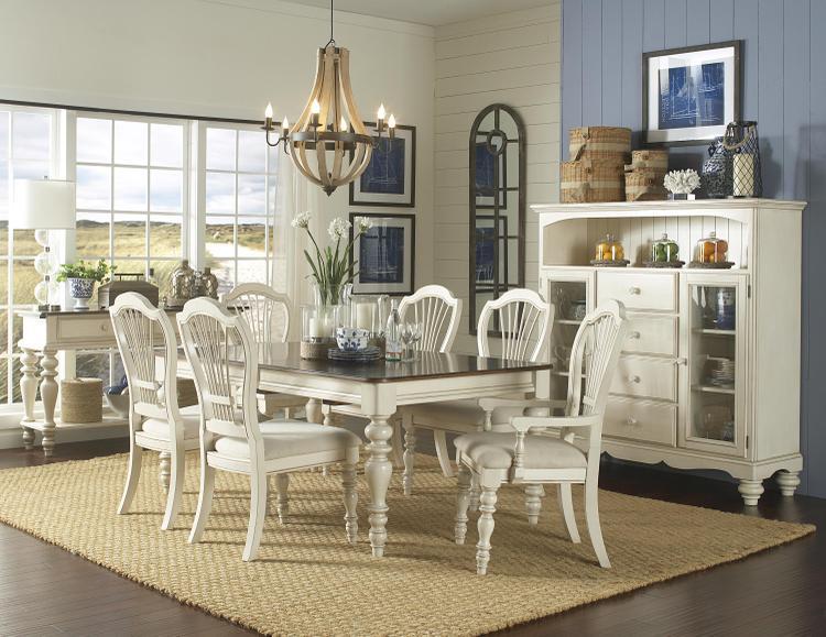 Hillsdale Furniture Pine Island 7-Piece Dining Set