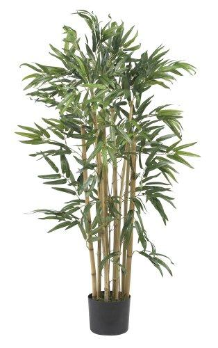 Nearly Natural 3' Multi Bambusa Bamboo Silk Tree