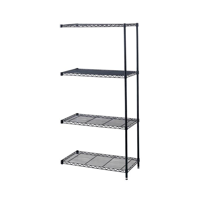 Industrial Wire Shelving, Add-On Unit, 48 x 18