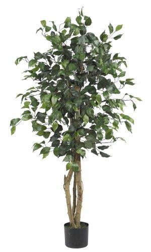 Nearly Natural 4' Ficus Silk Tree