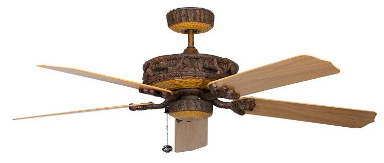 Concord Fans Ponderosa Ceiling Fan for Wet Location