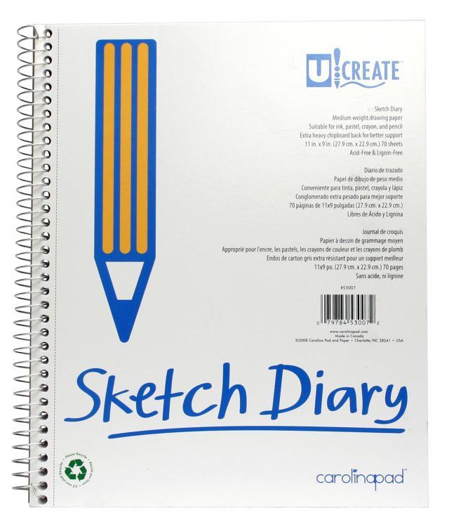 53007 Sketch Diary 11X9
