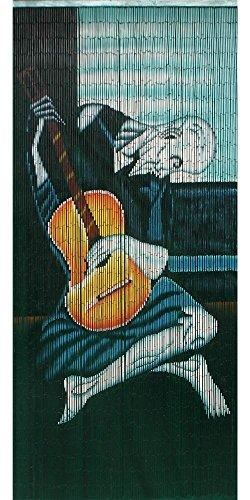 Picasso playing guitar curtain 125 strands