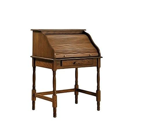 Coaster Palmetto Warm Honey Roll Top Secretary Desk