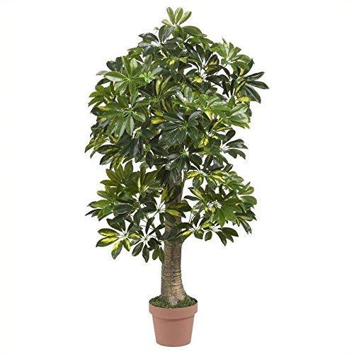 Nearly Natural 4? Schefflera Silk Tree (Real Touch) [Item # 5305B]