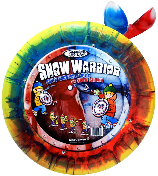 ESP Snow Warrior Shield and Snowball Slinger