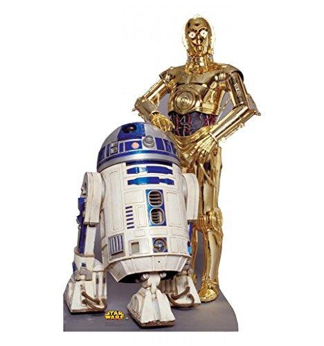 R2-D2 & C-3P0  (Star Wars)
