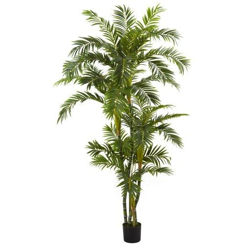 Nearly Natural 6? Curvy Parlor Palm Silk Tree