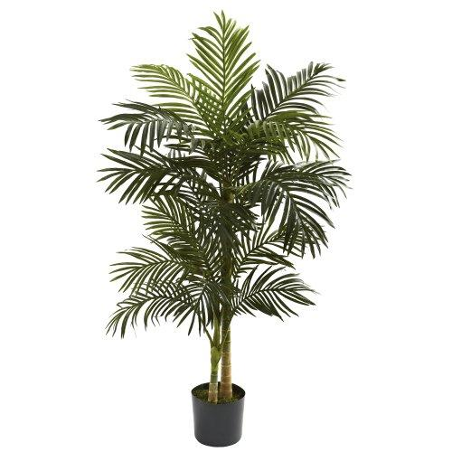 Nearly Natural 5' Golden Cane Palm Tree [Item # 5358B]