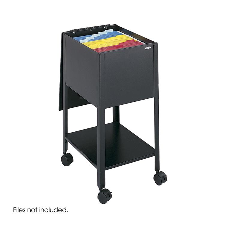 Economy Mobile Tub File, Black