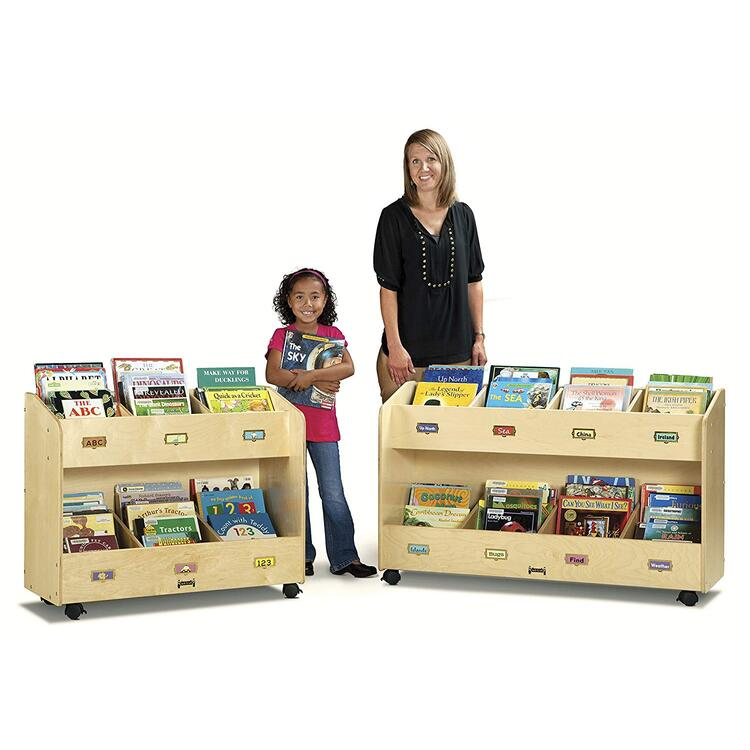 Jonti-Craft Mobile Book Organizer