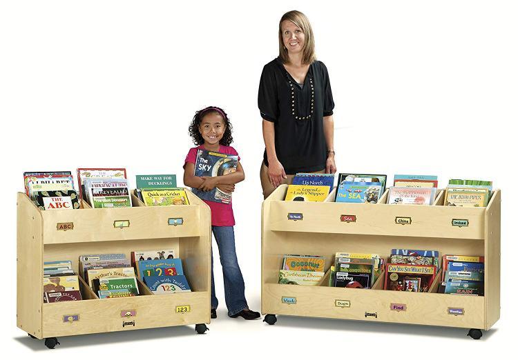 Jonti-Craft Mobile Book Organizer