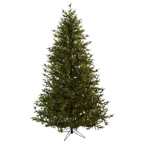7.5? Classic Pine & Pine Cone Christmas Tree