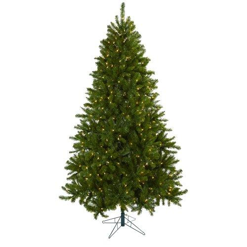 Nearly Natural 7.5? Windermere Christmas Tree w/Clear Lights