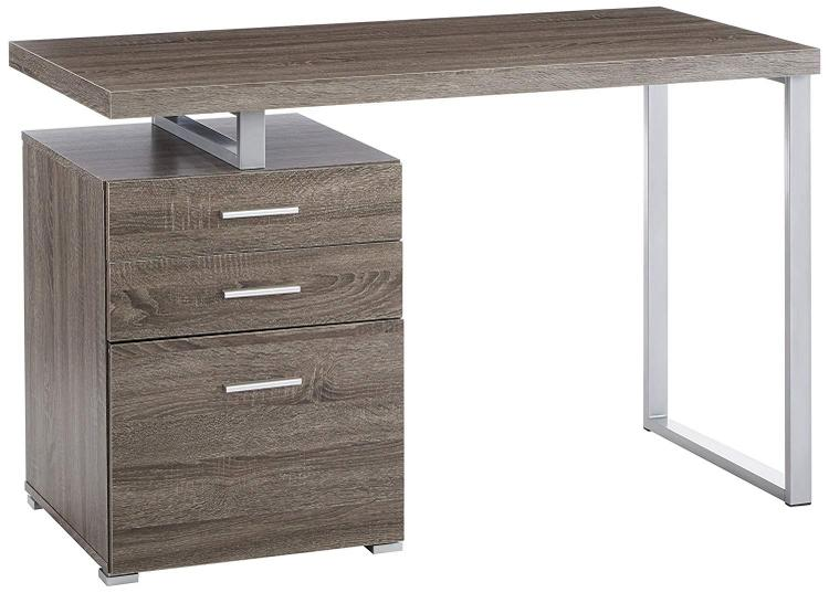 Coaster Home Contemporary Weathered Grey Writing Desk