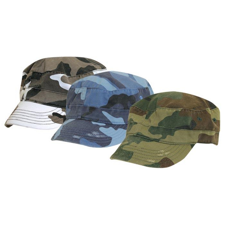Camo Cadet Hat Asst