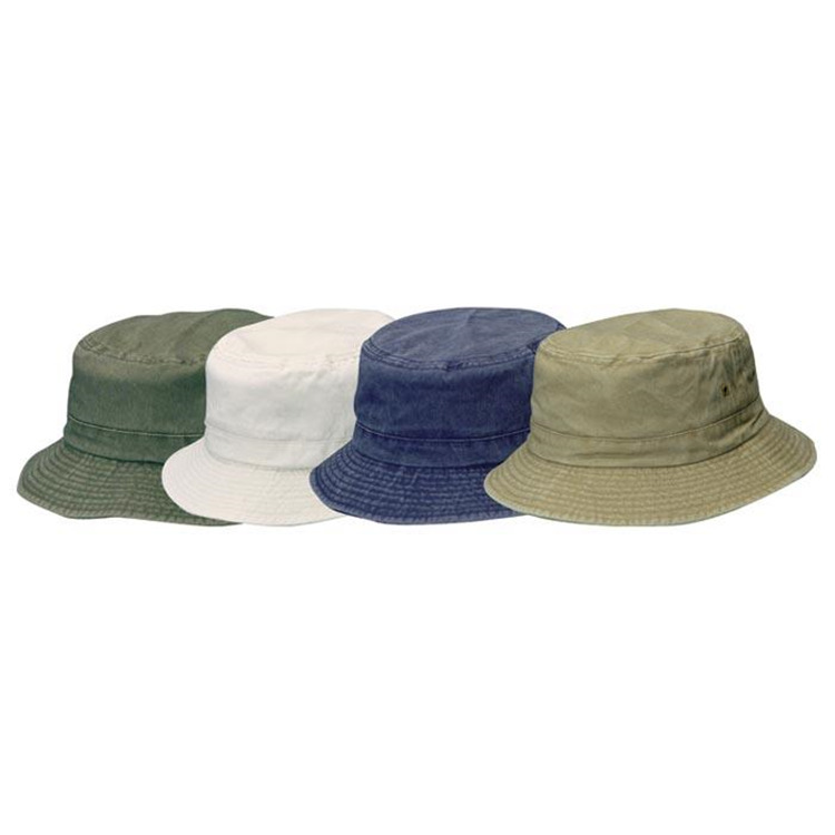 Kids Twill Bucket Hat Asst