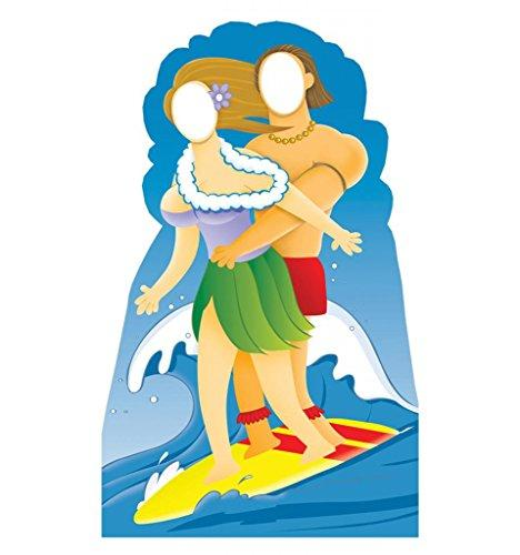 Surfer Couple Stand-In