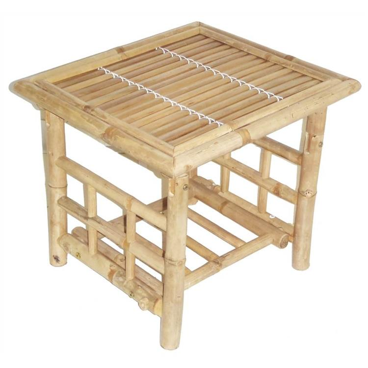 Table Bamboo End