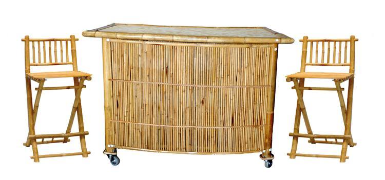 Set Bamboo Bar 3 Topless