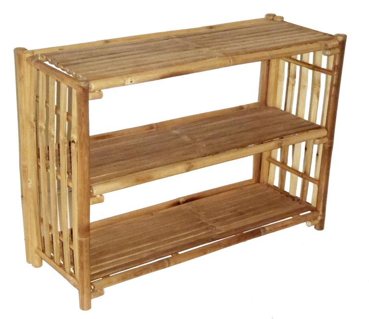 Shelf Bamboo Table