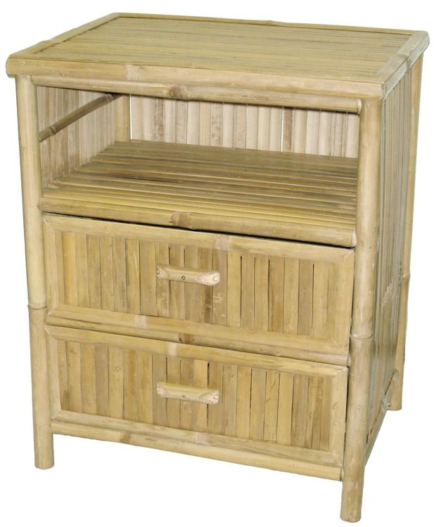 Bamboo Table/Stand 2 Draws