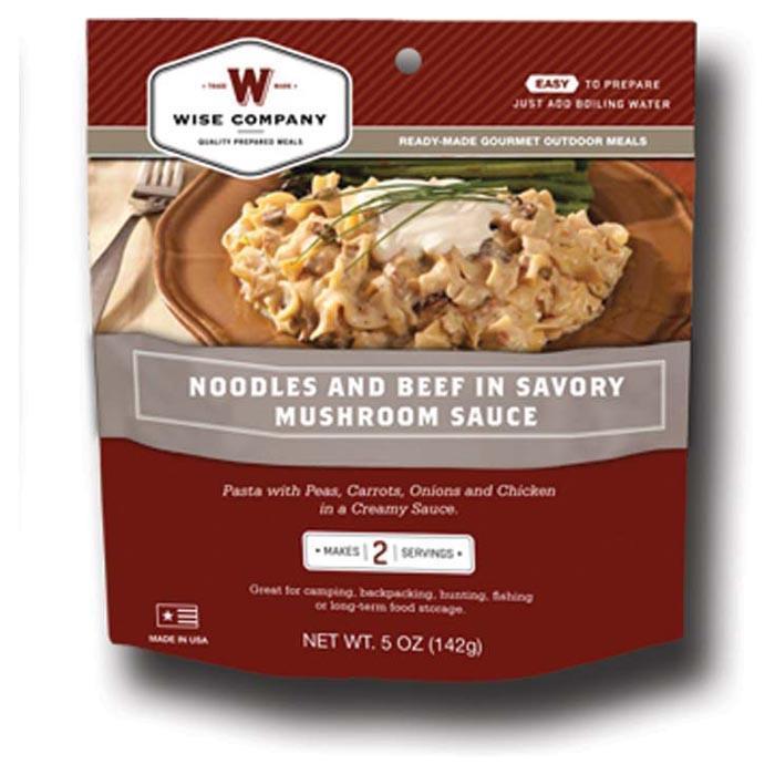 Beef & Noodles Stroganoff