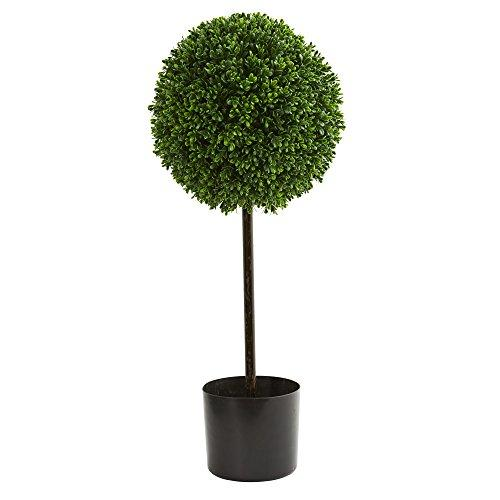 2.5? Boxwood Ball Artificial Topiary Tree UV Resistant (Indoor/Outdoor) [Item # 5493B]