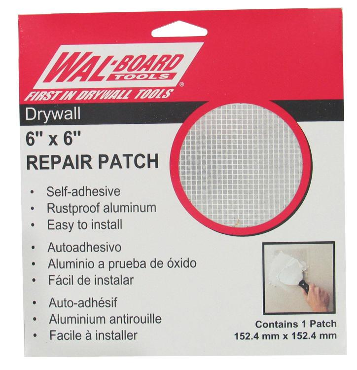 54-006 Drywal Patch 6In X 6In