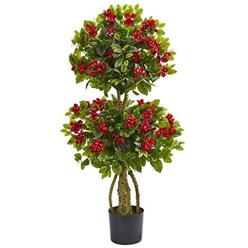 4? Double Bougainvillea Artificial Topiary Tree