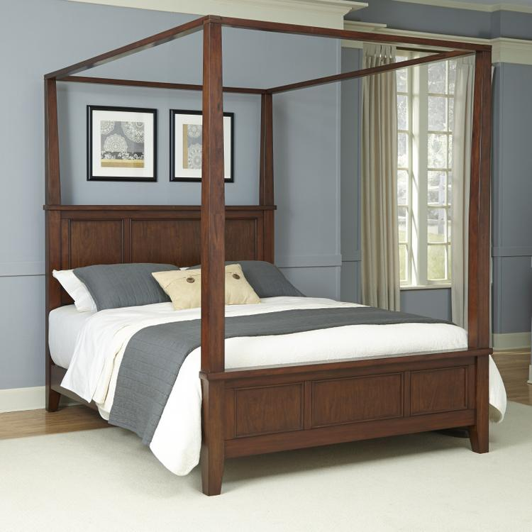 Home Styles Chesapeake Cherry Canopy Bed