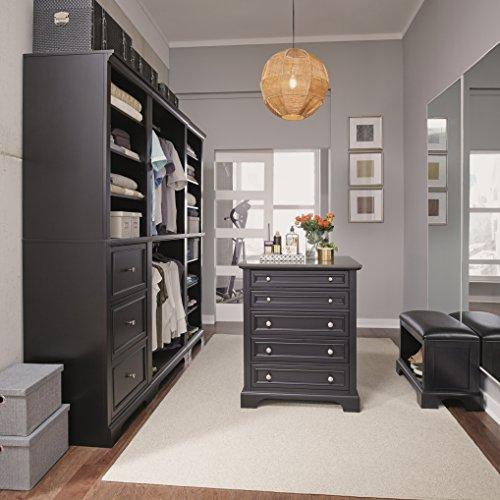 Home Styles Bedford 5 Pc Closet Organizer