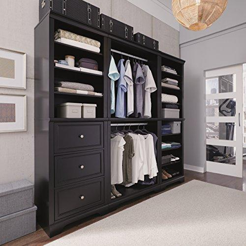 Home Styles Bedford 3 Pc Closet Organizer